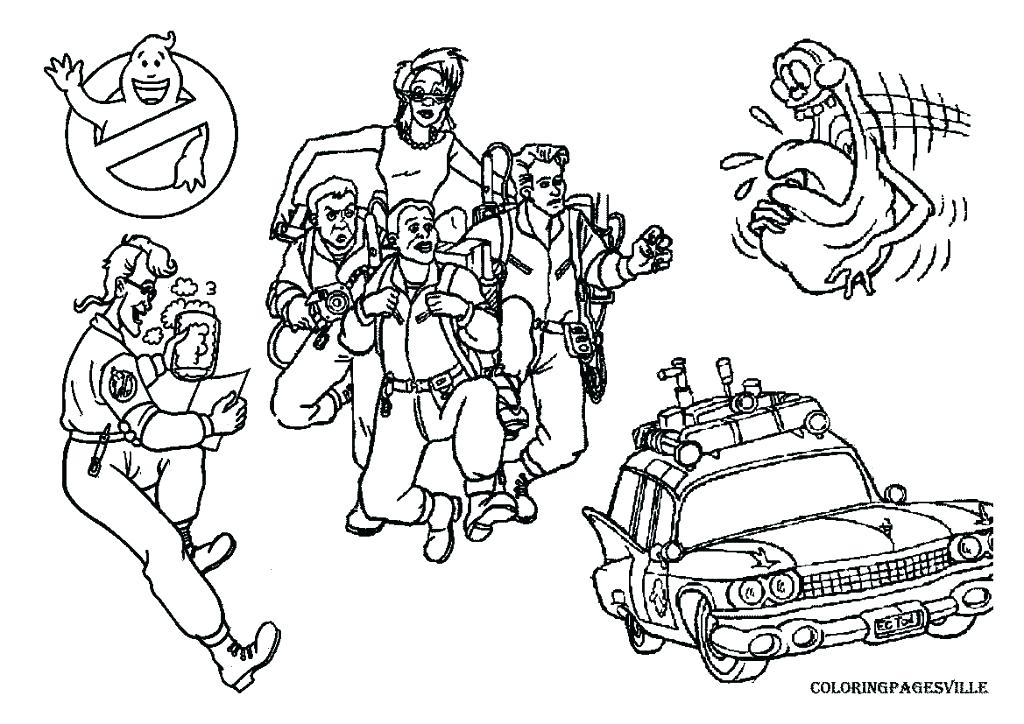 The best free Ghostbuster coloring page images. Download ...