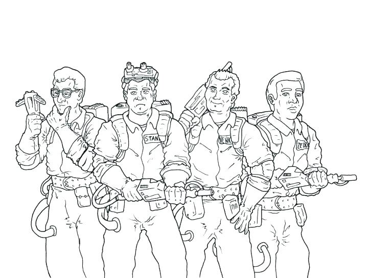728x543 Ghostbusters Coloring Pages Coloring Sheets To Fancy Draw Pages