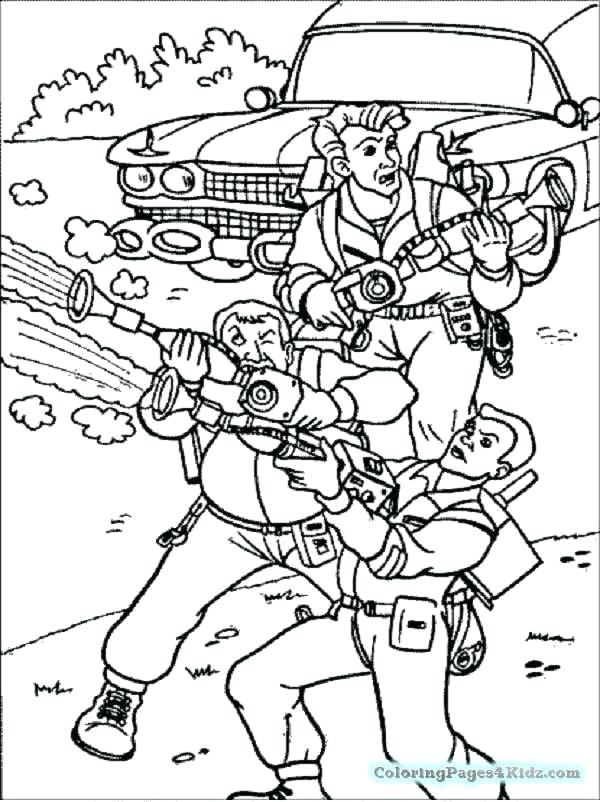 600x802 Ghostbusters Coloring Pages Coloring Pages Of Ghostbusters