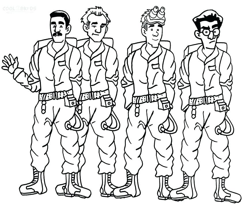 850x710 Ghostbusters Coloring Pages Ghost Coloring Pages Ghost Printable