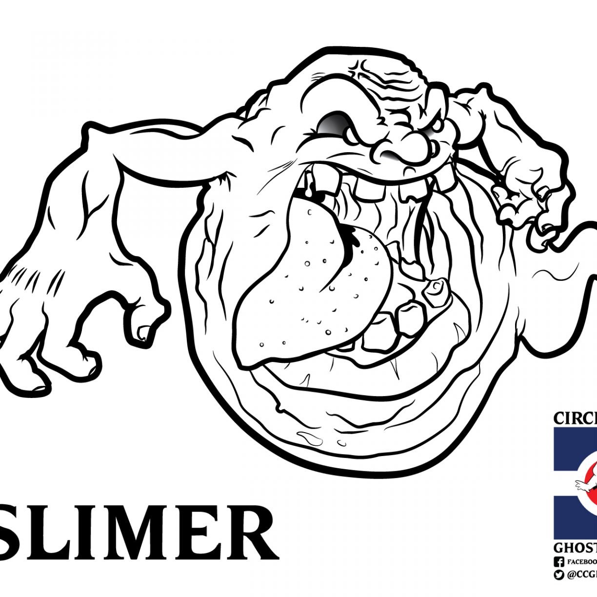 1224x1224 Old Fashioned Ghostbusters Coloring Pages To Print Illustration