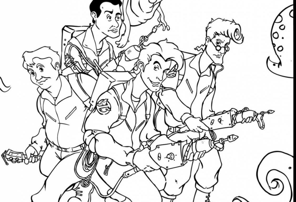 1126x768 Free Printable Ghostbusters Coloring Pages Cartoons Car Real Stock