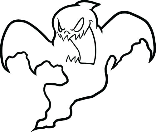 500x423 Ghostbusters Coloring Page For Kids Ghost Coloring Page Free
