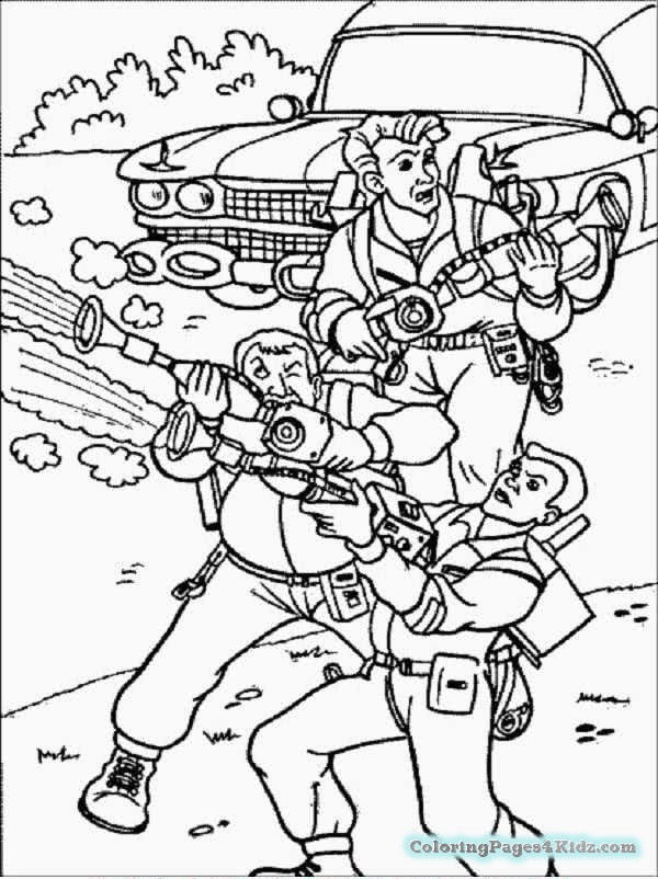 600x802 Ghostbusters Coloring Pages