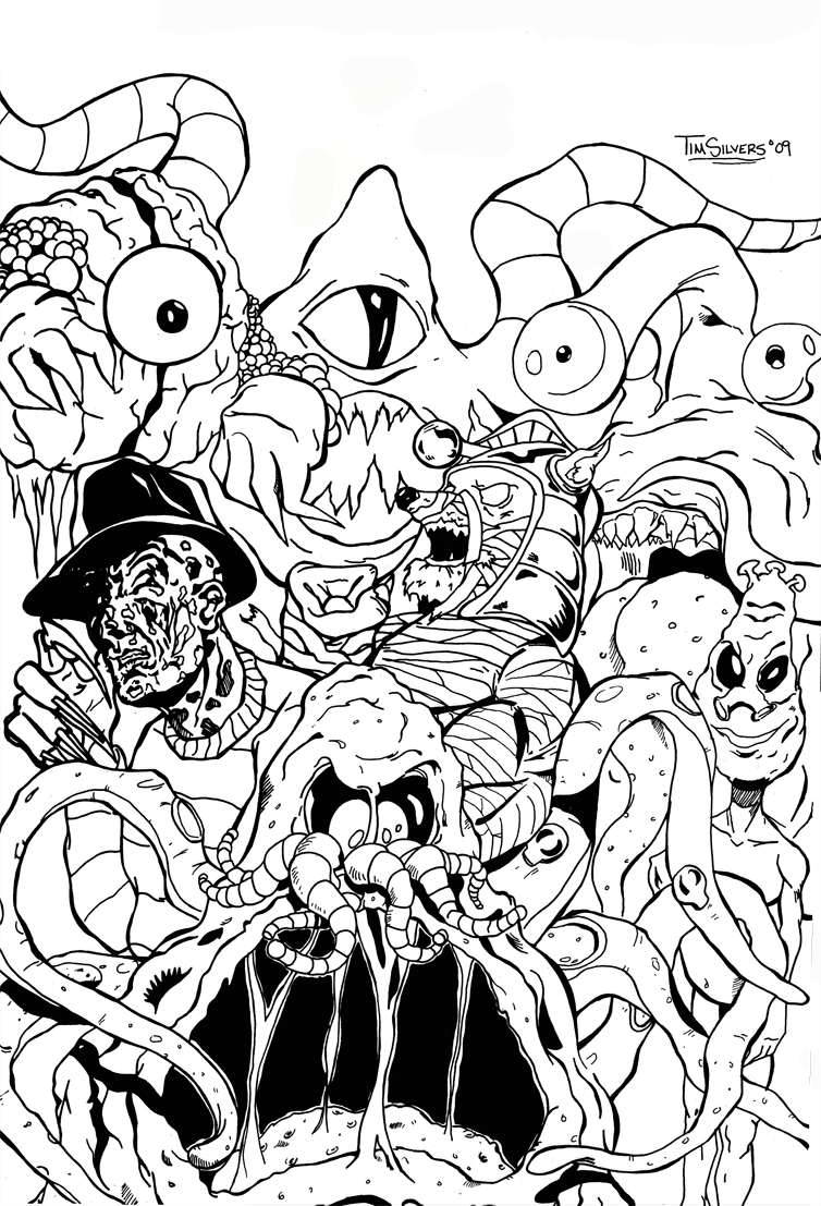 754x1107 Ghostbusters Coloring Pages Awesome Slimer From At Ghostbuster