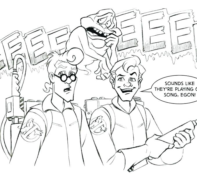Ghostbusters Coloring Pages To Print At Getdrawings Com Free For