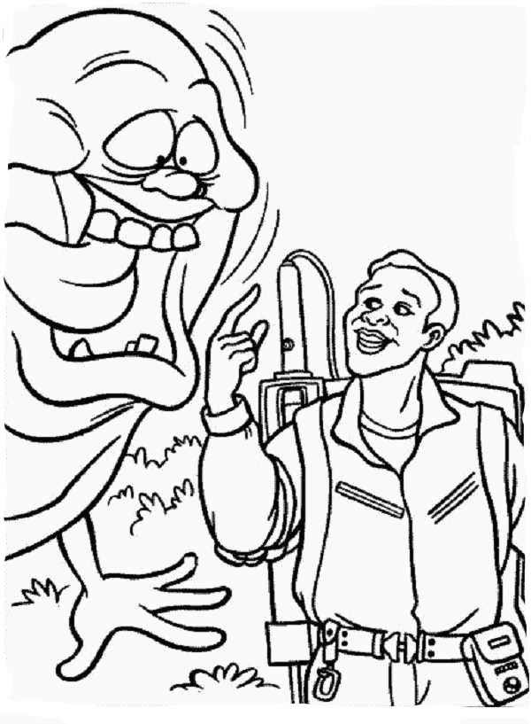 600x817 Ghostbusters Coloring Pages To Download And Print For Free