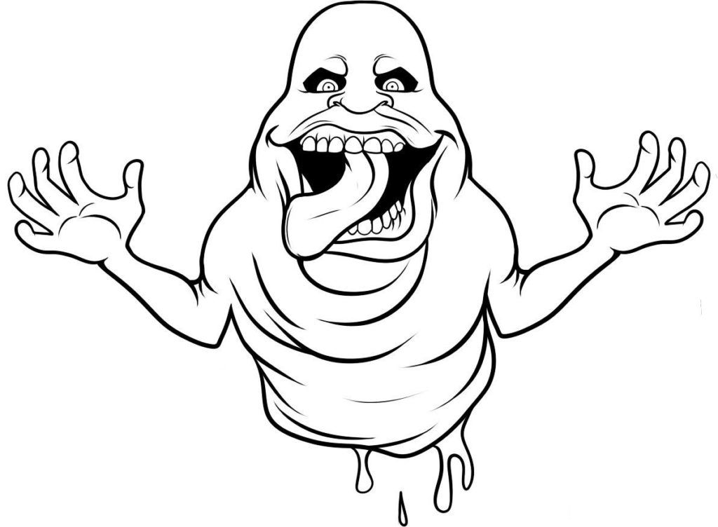 1024x752 Free Coloring Page For Kids Ghostbusters Coloring Pages