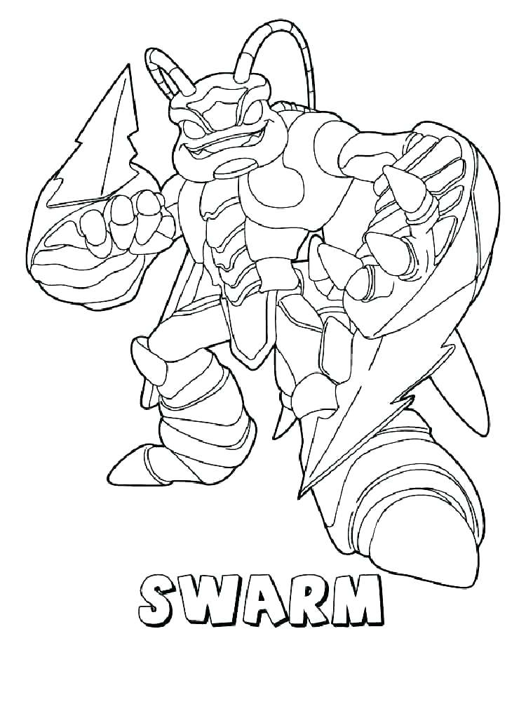 750x1000 Skylander Coloring Pages Coloring Books And Color Page Giant