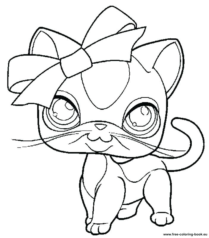 703x800 Coloring Pages Printable Coloring Littlest Pet Shop Coloring