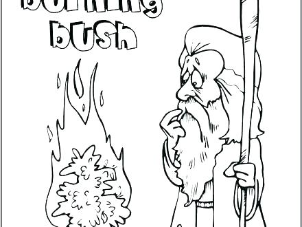 440x330 Gideon Coloring Page Coloring Page Coloring Pages From The Bible