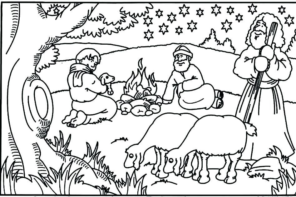 Gideon Bible Story Coloring Pages At Getdrawings Com Free For