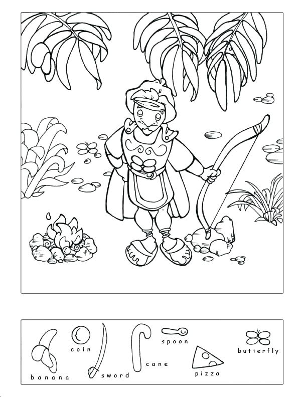 612x792 Gideon Coloring Page Coloring Pages S Battle Coloring Pages Gideon