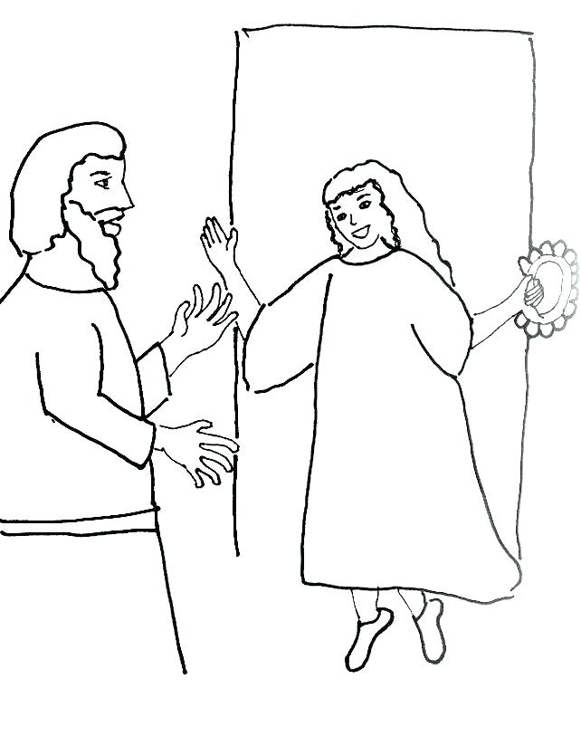 642x834 Gideon Coloring Pages Coloring Page Bible Story Coloring Page