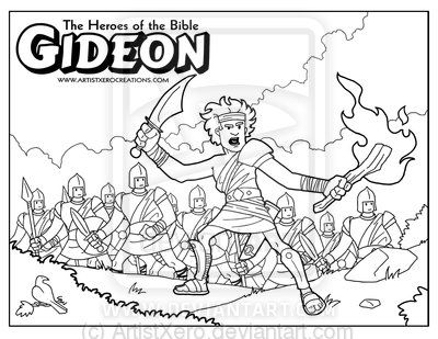 Gideon Coloring Pages At Getdrawings Free Download