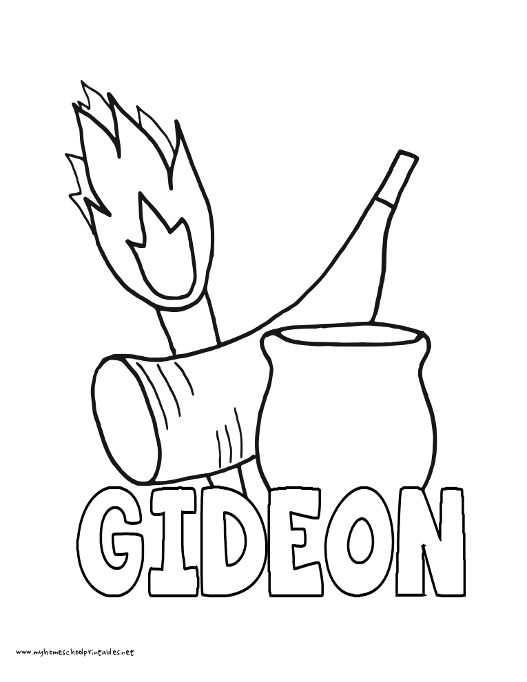 765x990 Gideon Coloring Pages Gideon Coloring Page Free Coloring Home Free