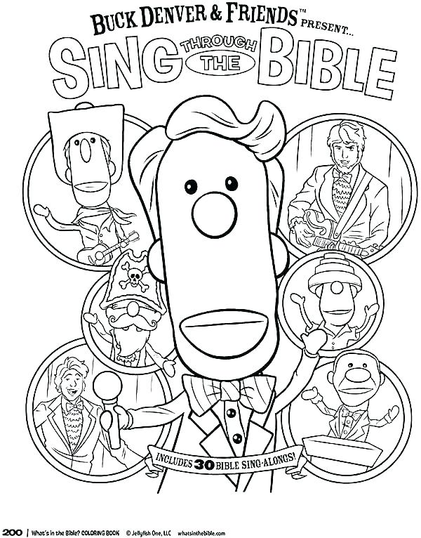 600x766 Gideon Coloring Pages