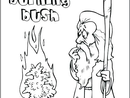 440x330 Gideon Coloring Page Coloring Cute Children's Bible Coloring Pages
