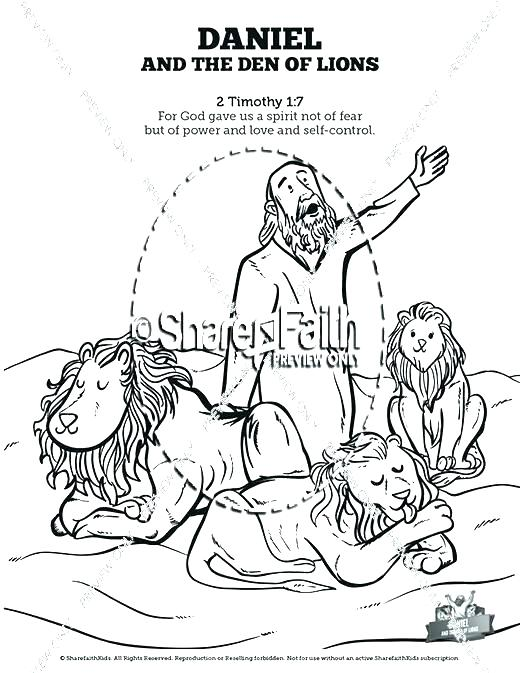 520x673 Gideon Coloring Page Coloring Page Coloring Pages And The Lions
