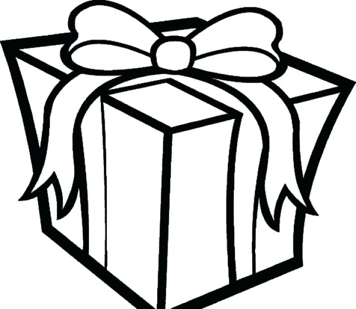 720x625 Christmas Present Coloring Pages Or Present Coloring Page