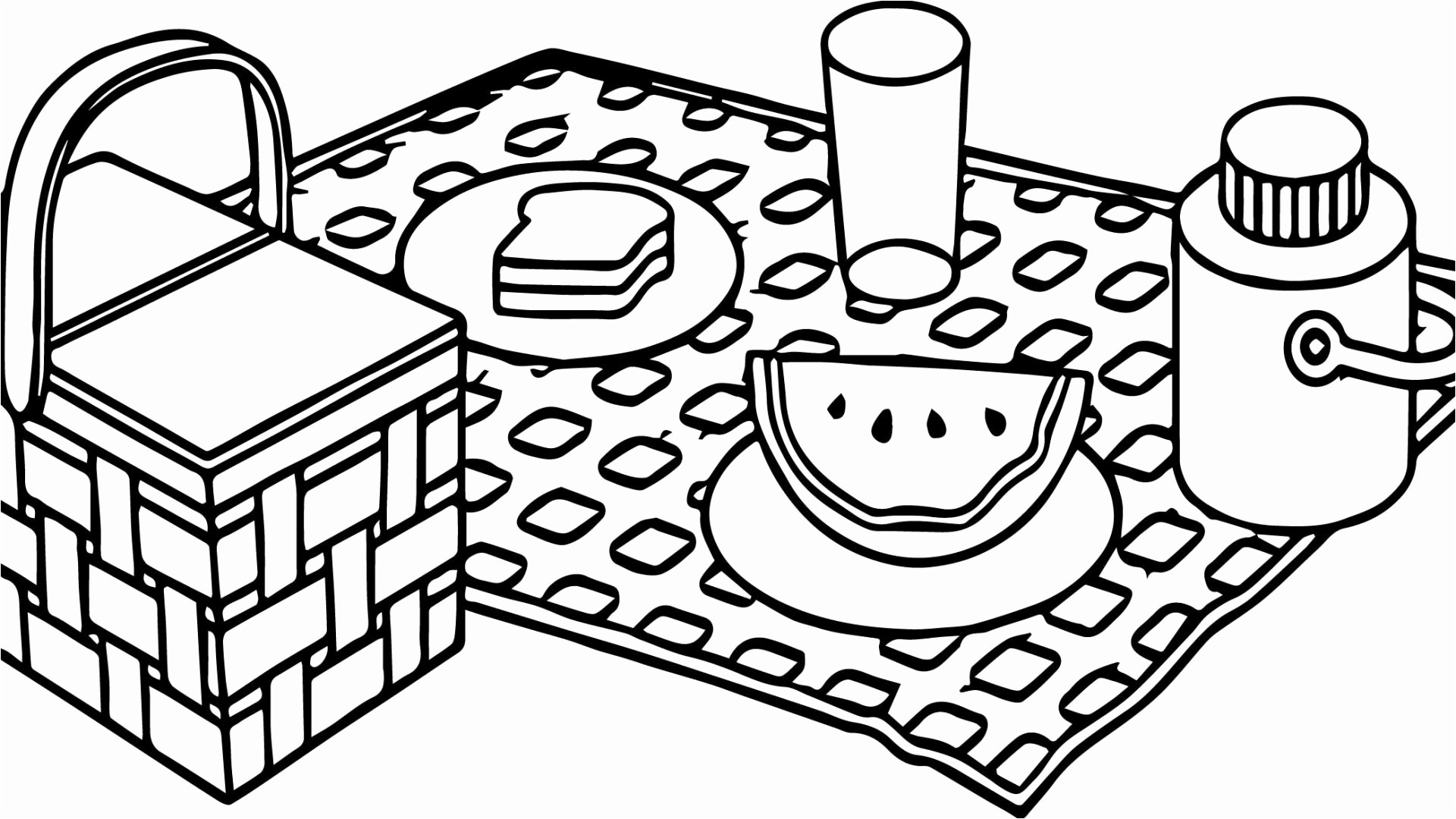 1920x1080 Gift Coloring Page Cool Coloring Pages