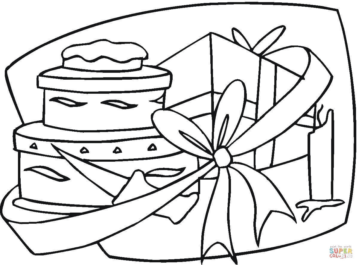 1200x885 Gift Coloring Pages Mosm