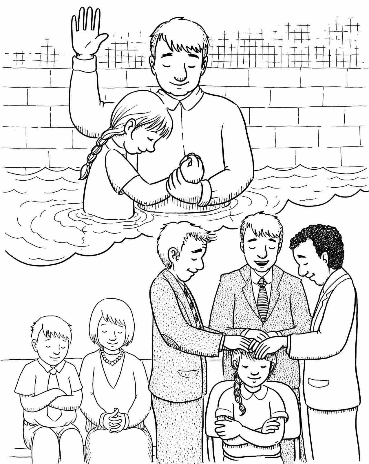 1274x1600 Guaranteed Gift Of The Holy Ghost Coloring Pag