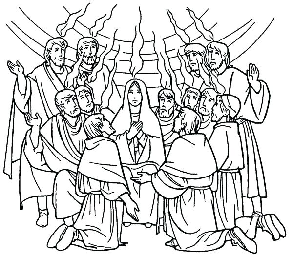 600x523 Holy Spirit Coloring Page Holy Spirit Coloring Pages Celebrate