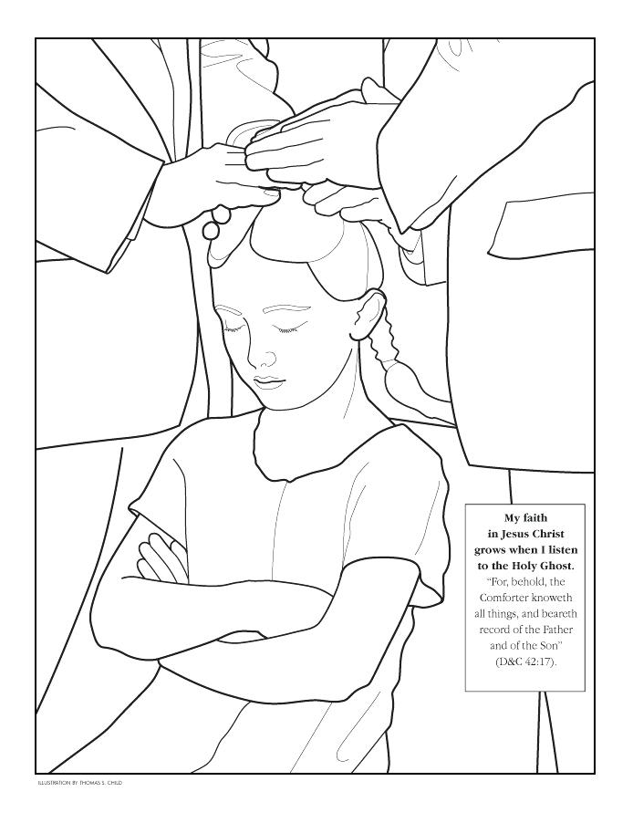 694x902 Holy Spirit Coloring Pages Page