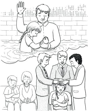356x447 Holy Spirit Coloring Pages Spirit Coloring Pages Receiving Holy