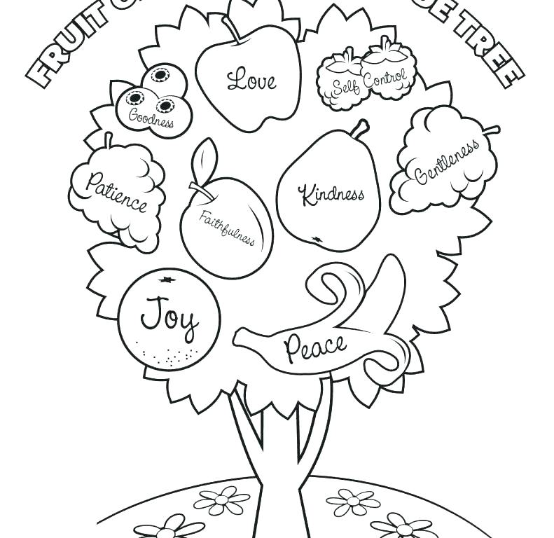 791x768 Spirit Coloring Pages Fruits The Spirit Coloring Pages Fruit