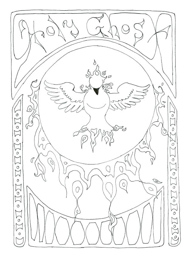 640x860 Ghost Coloring Page Holy Spirit Coloring Page Free Printable Ghost