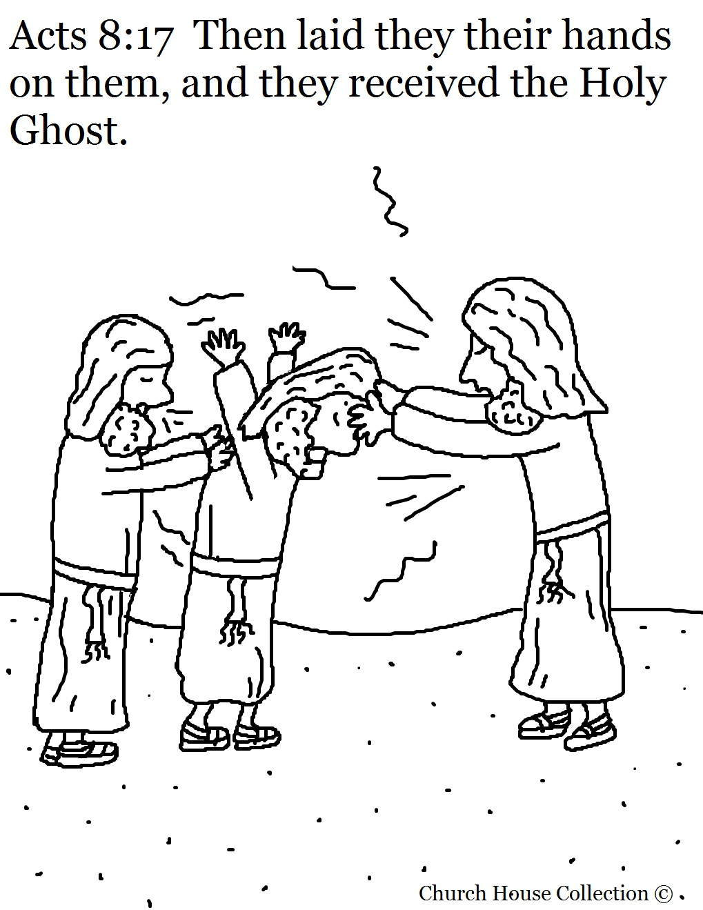 1019x1319 Successful Gift Of The Holy Ghost Coloring Pag
