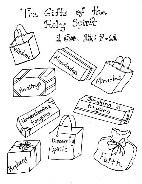 575x744 Lds Pictures To Color Gifts Of The Holy Spirit Coloring