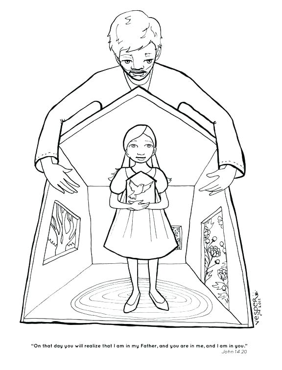 576x756 Holy Ghost Coloring Page Holy Spirit Coloring Page Holy Spirit