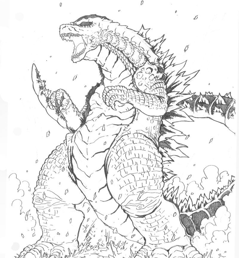 Gigan Coloring Pages