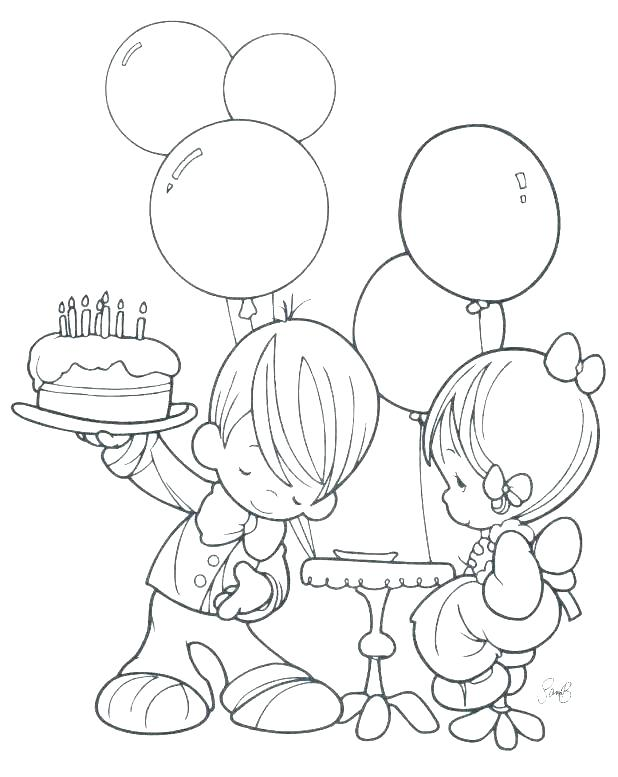 618x777 Coloring Pages For Boy Boy Coloring Pages Free Printable Birthday