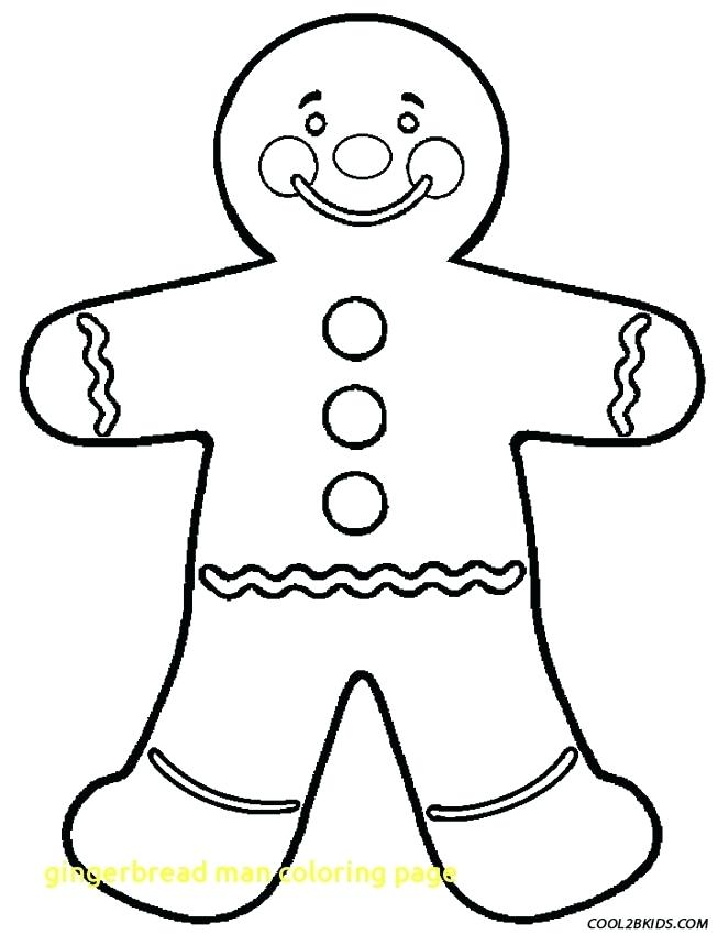 653x850 Gingerbread Man Color Page Coloring Pages Gingerbread Man Free