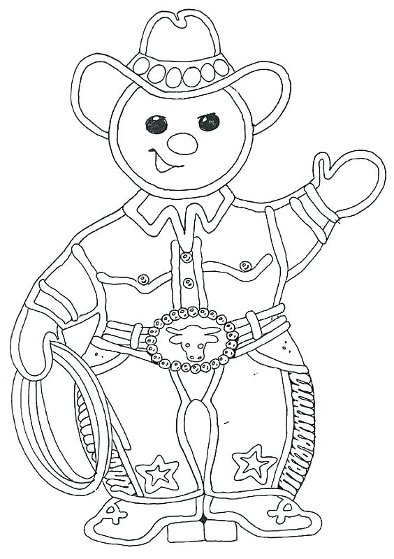 564x800 Gingerbread Man Color Page Great Gingerbread Man Coloring Pages