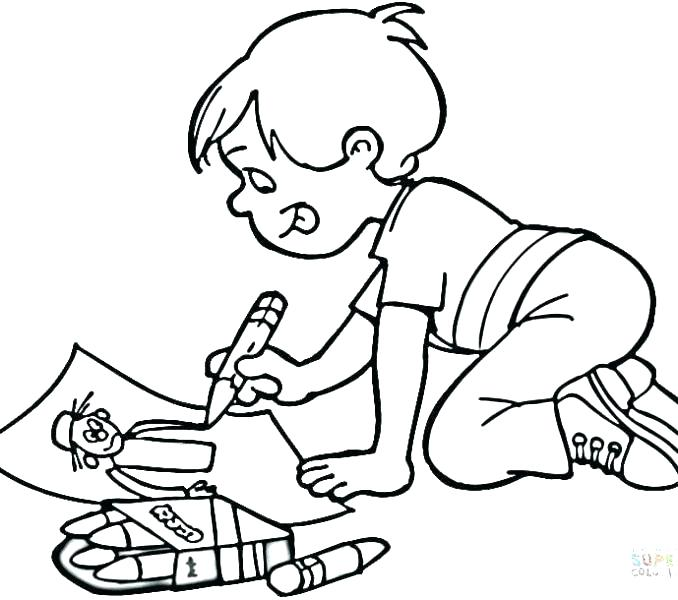 678x600 Baby Boy Coloring Pages Boy Coloring Page Gingerbread Boy Coloring