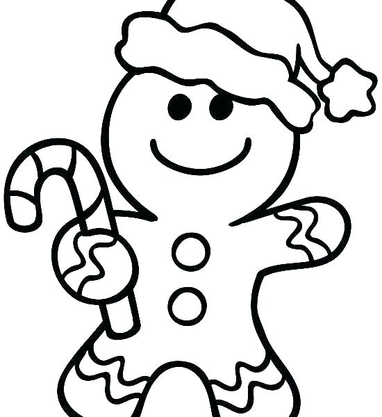 550x600 Gingerbread Man Colouring Pages Gingerbread Man Coloring Pages
