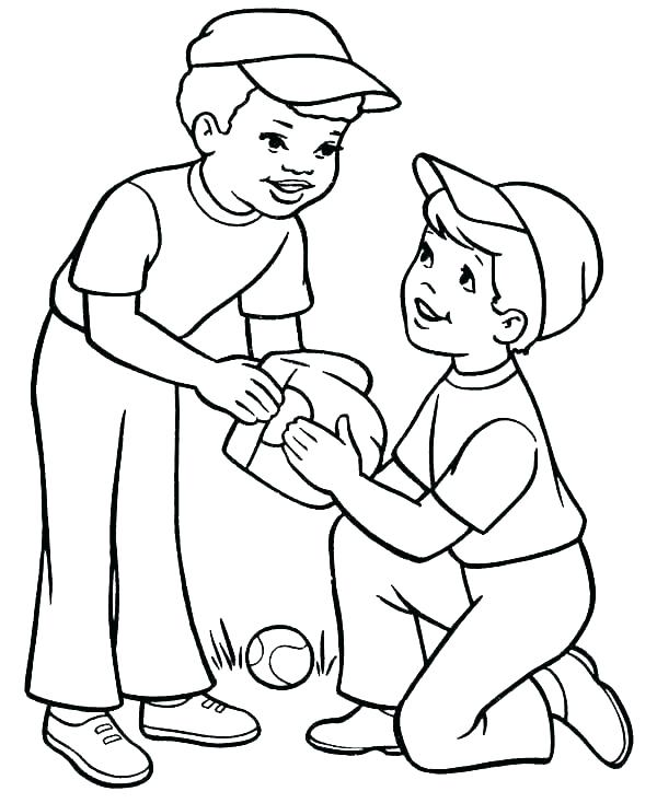 600x734 Boy Coloring Page Coloring Pages Boy Boys Coloring Page Boy Color