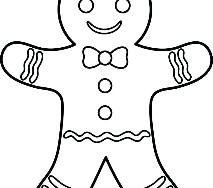 678x600 Boy Coloring Pages Free Printable Coloring Gingerbread Man Story