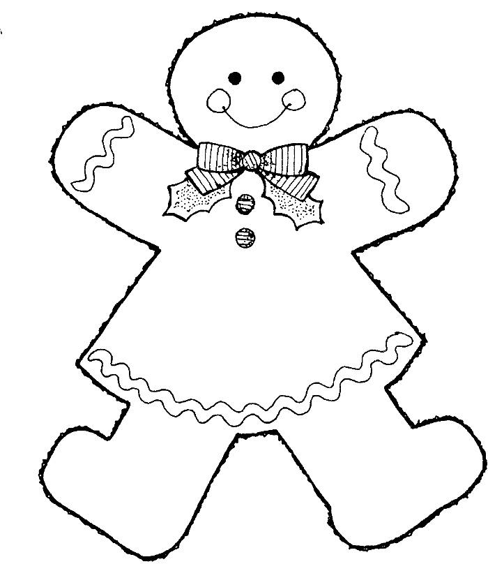 700x808 Gingerbread Coloring Pages Elegant Printable Gingerbread Man