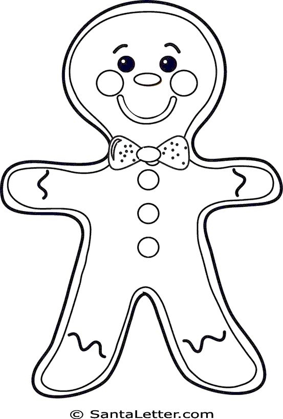 553x820 Gingerbread Coloring Pages Gingerbread Man Coloring Pages Best