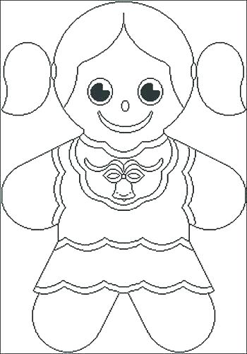 350x502 Gingerbread Coloring Pages House Coloring Pages Also Gingerbread