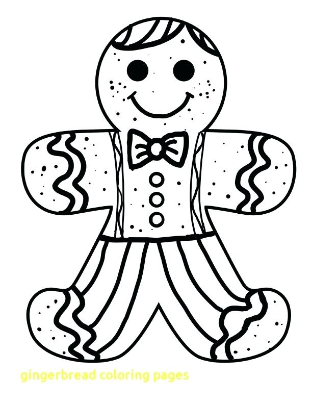 Gingerbread Cookie Coloring Page At GetDrawings Free Download