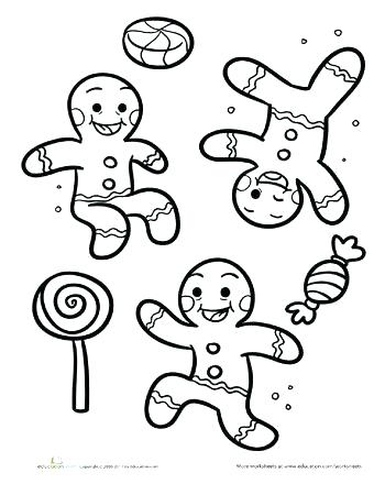 350x440 Gingerbread Man Coloring Page Awesome Gingerbread Man Coloring