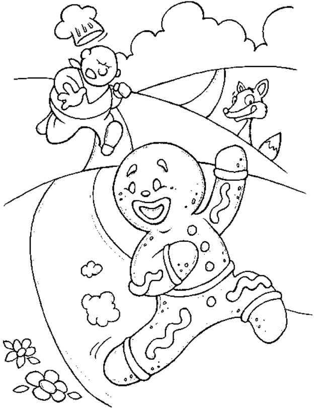 624x810 Gingerbread Man Coloring Pages Awesome Free Printable Gingerbread