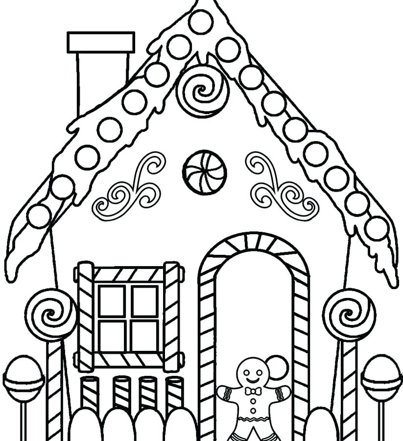 823x900 Gingerbread Man With For Kids Of Coloring Pages Gingerbread Man